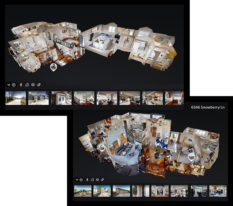 Virtual 3D Mattereport Tours