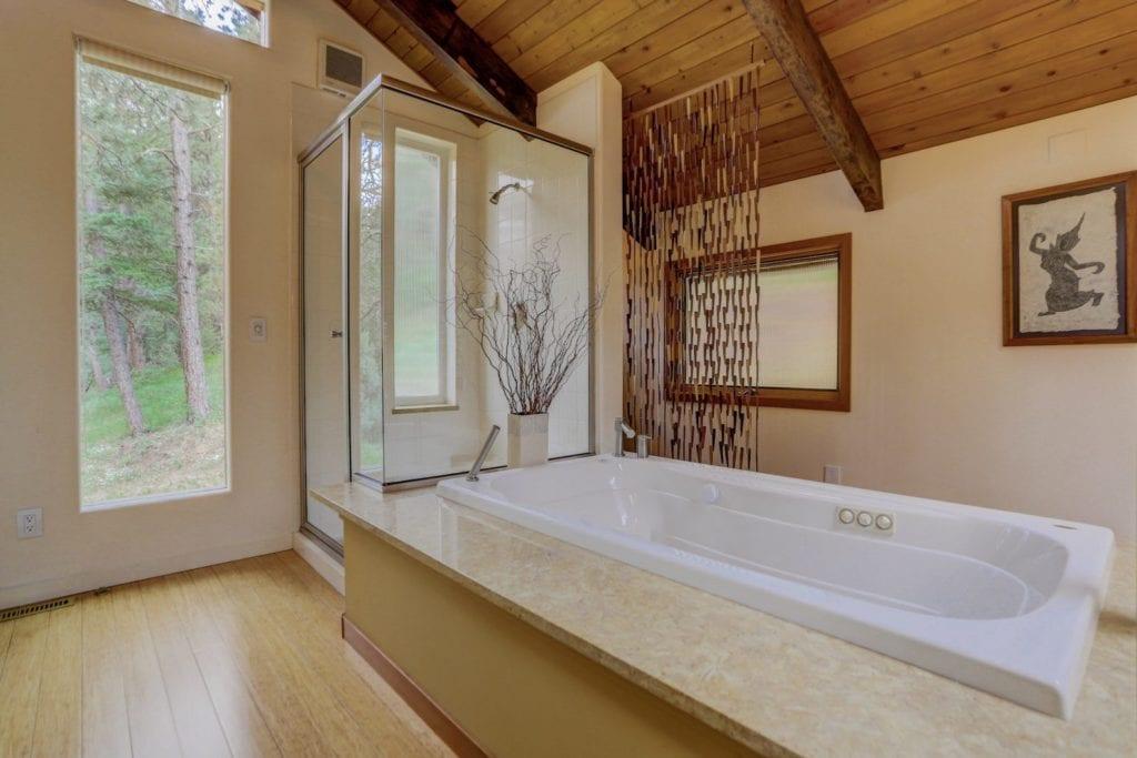 Master Bathroom with Bathtub and feel spa-like