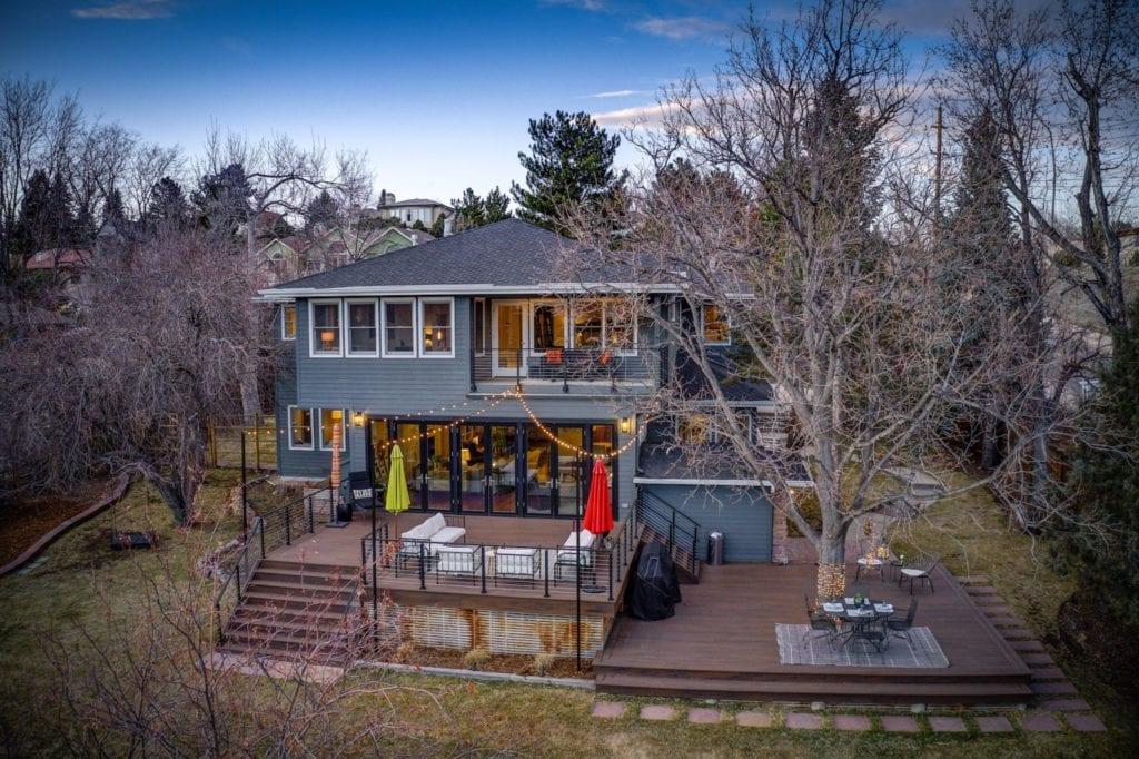 Deck Photo of 19th Street Backyard